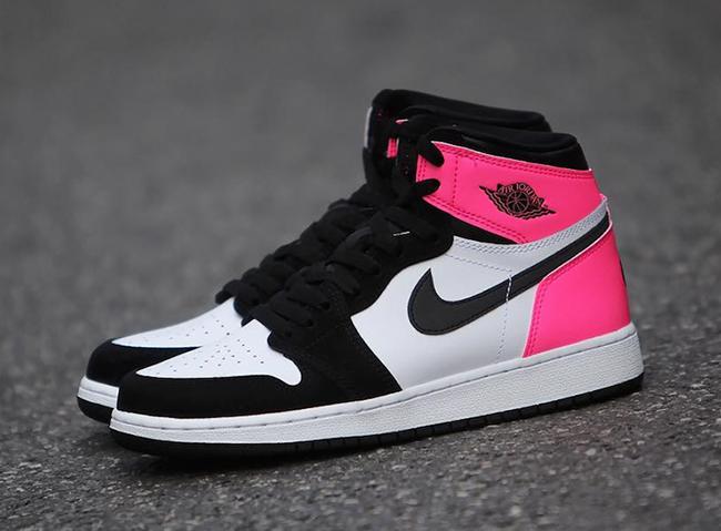 d92ee6cccfe2 Air Jordan 1 Valentines Day 881426-009 Pink Black