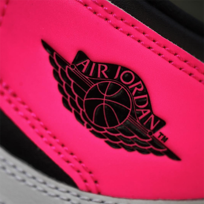 Air Jordan 1 Valentines Day 881426 009 Pink Black Sneakerfiles