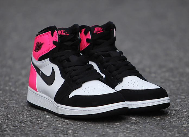 376133cda5343c Air Jordan 1 Valentines Day 881426-009 Pink Black