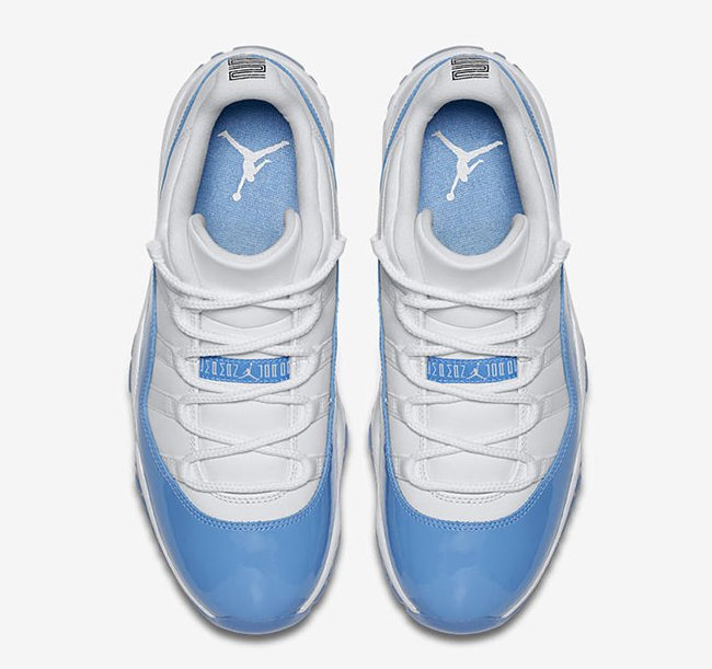 Air Jordan 11 Low Columbia Blue 2017