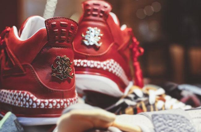 newest 58dc2 6c66b Air Jordan 4 Chinese New Year Custom | SneakerFiles