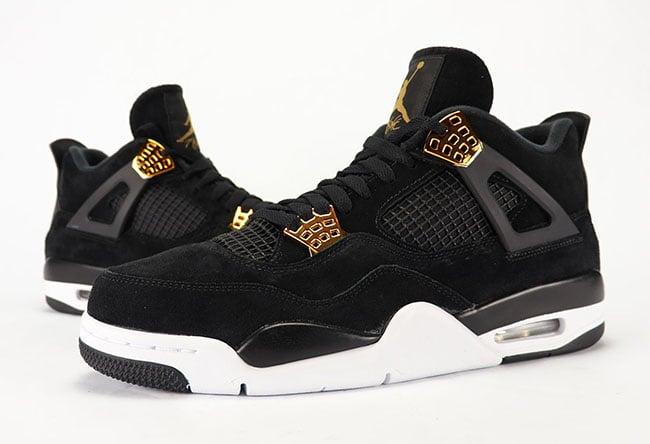 Air Jordan 4 Royalty Black Gold Review On Feet