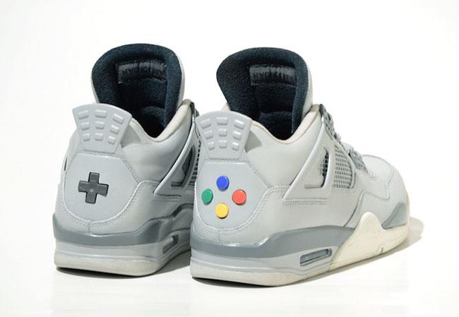 Air Jordan 4 Super Nintendo Custom