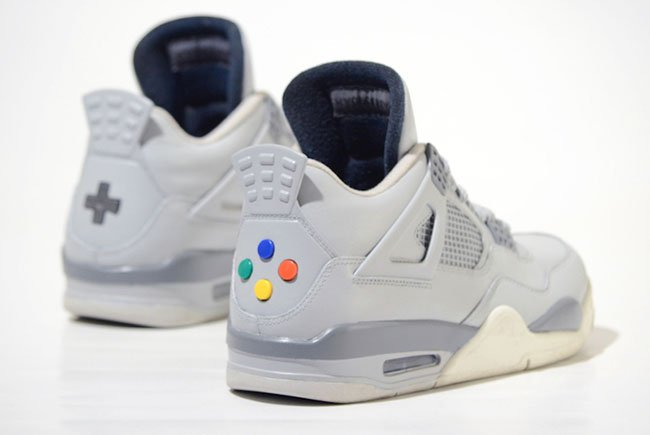 Air Jordan 4 Super Nintendo Custom