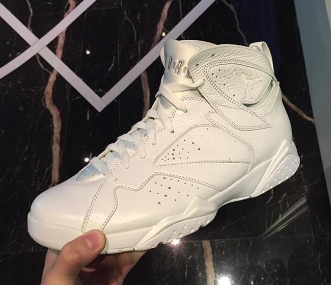 Air Jordan 7 White Silver 2017