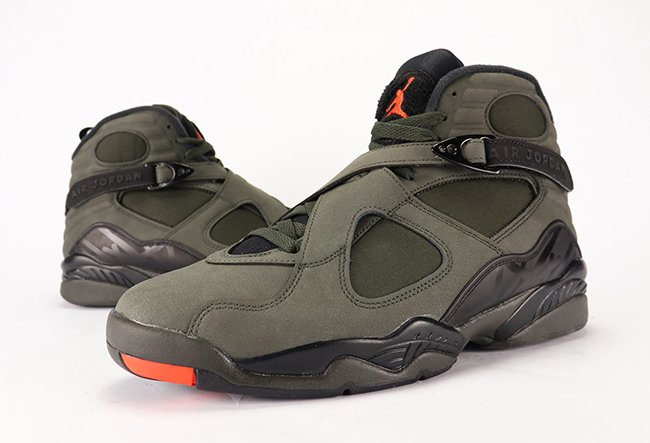 reputable site 1528e ac3d5 Air Jordan 8 Take Flight Sequoia Undefeated Review On Feet