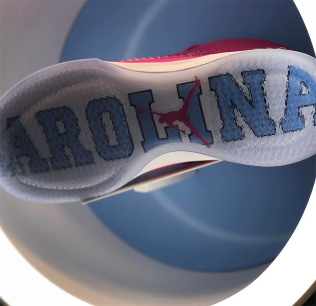 Air Jordan XXX1 Coaches vs Cancer PE UNC