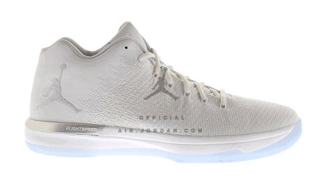 Air Jordan XXX1 Low Triple White