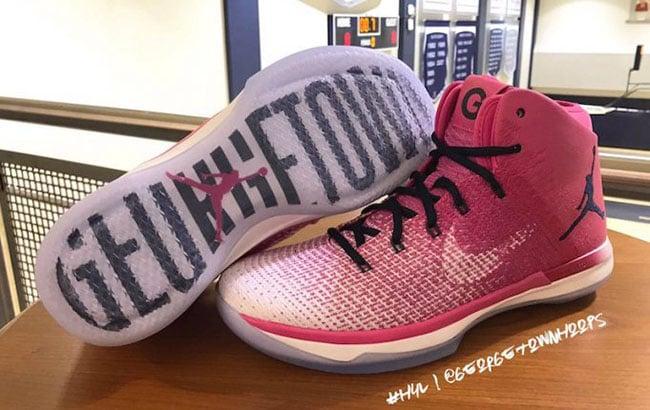 Air Jordan XXX1 Pink Georgetown