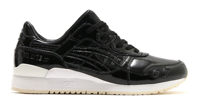 Asics Gel Lyte III Black Patent Leather