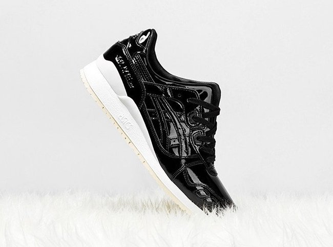 Asics Gel Lyte III Patent Leather Black
