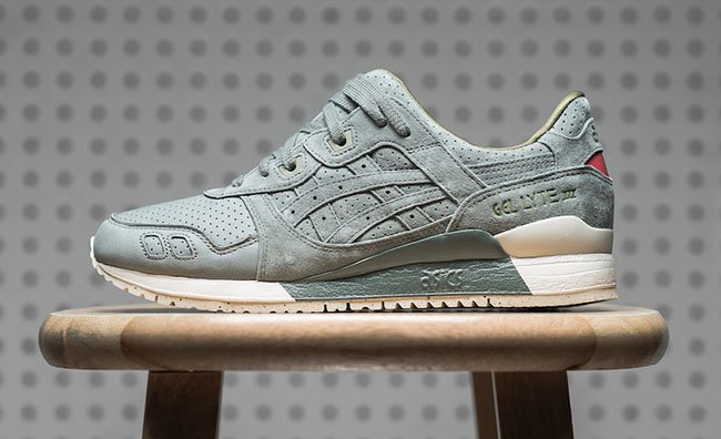Asics Gel Lyte III Perforated Pack Agave Green