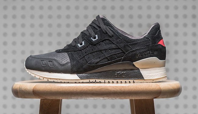 Asics Gel Lyte III Perforated Pack Black