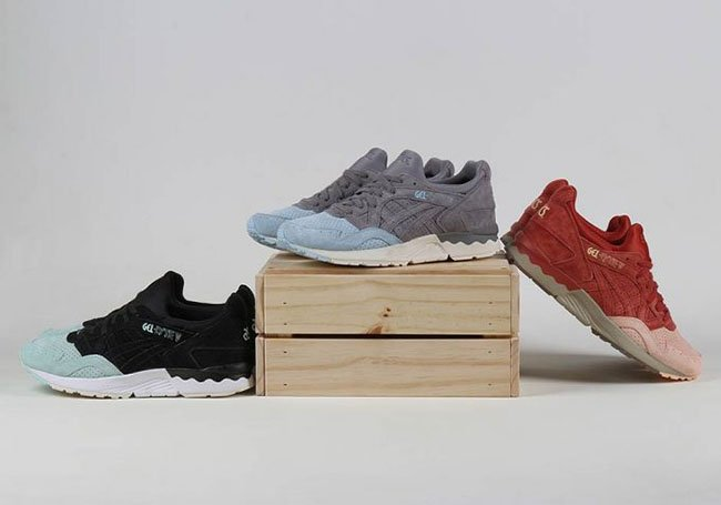 new product b2e28 98f22 Asics Gel Lyte V Suede Toe Pack | SneakerFiles