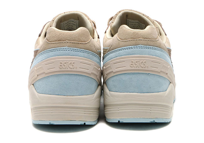 Asics Gel Sight Taupe Brown Light Blue