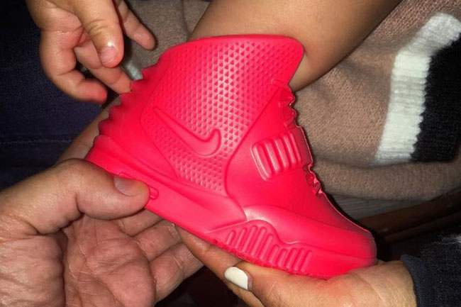 Baby Red October Nike Yeezy 2 North West | SneakerFiles