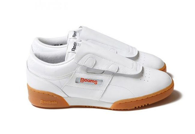 BEAMS x Reebok Workout Clean White Gum