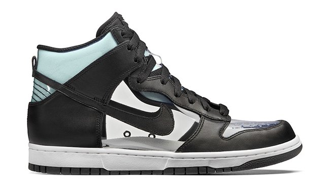 COMME des GARCONS Nike Dunk Hi Clear Release Date