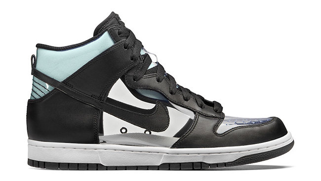 COMME des GARCONS Nike Dunk Hi Clear Release Date