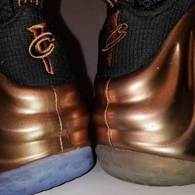 Copper Nike Foamposite 2017 2010 Comparison
