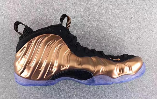 Copper Nike Foamposite One 2017 Release