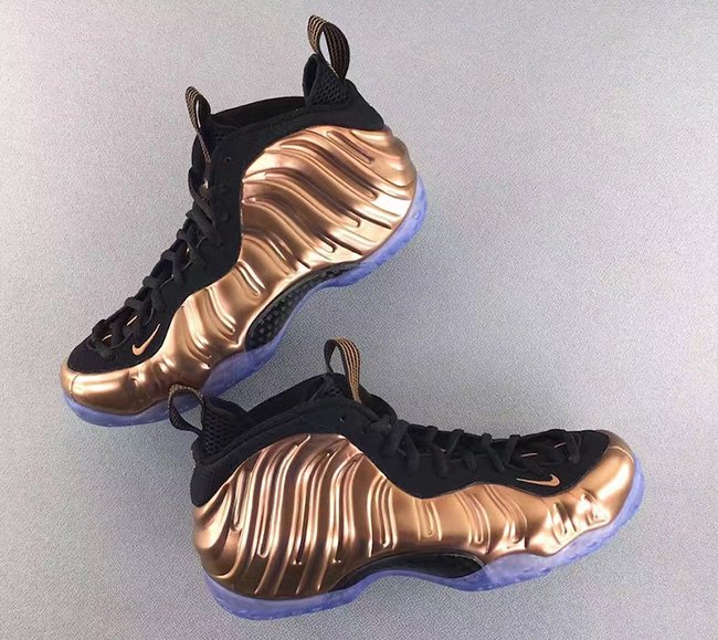 Copper Nike Foamposite One 2017 Release