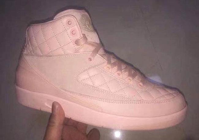 Don C Air Jordan 2 Pink 2017
