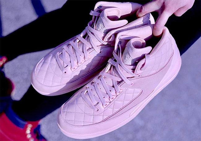 Just Don C Air Jordan 2 Pink