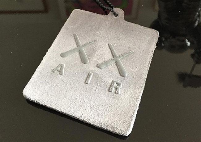 KAWS x Air Jordan Hangtag Suede