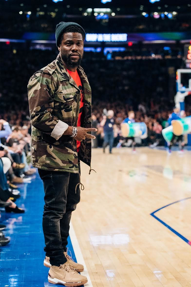 Kevin Hart Nike Zoom Generation Vachetta Tan All Star