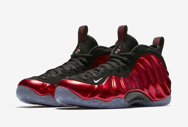 Metallic Red Nike Air Foamposite One 2017 Release Date