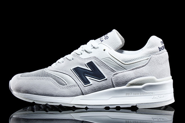 New Balance 997 Premium White Navy