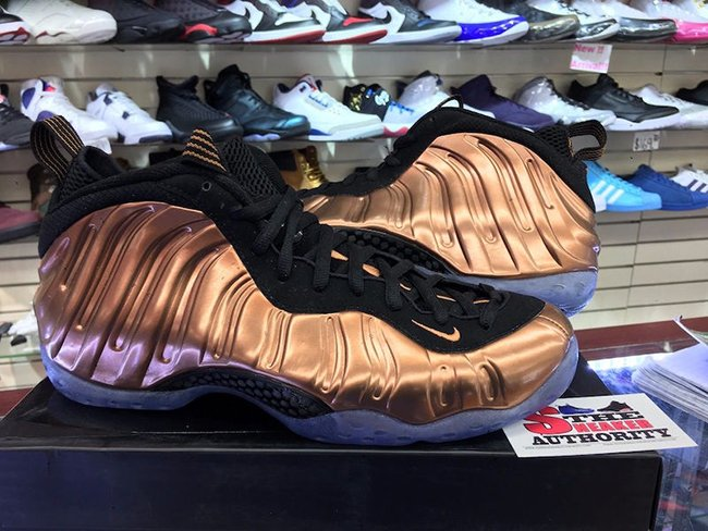 Nike Air Foamposite One Copper 2017 314996-007