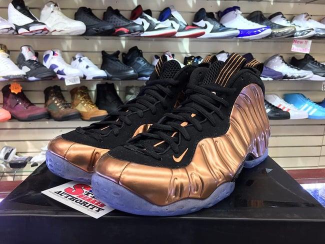 Nike Air Foamposite One Copper 2017 314996-007