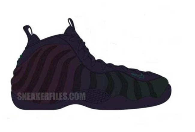 Nike Air Foamposite One Invisibility Cloak 2017 Release Date