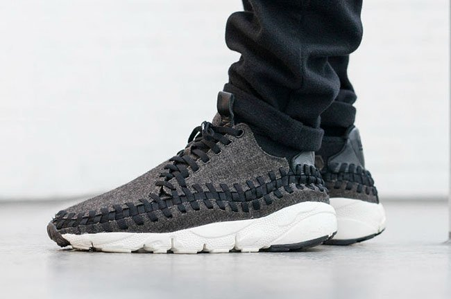 e24cfef7ca9 Nike Air Footscape Woven Chukka Black Ivory 857874-001
