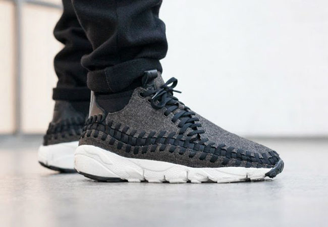 new styles 3b7e4 ce1e9 Nike Air Footscape Woven Chukka Black Ivory