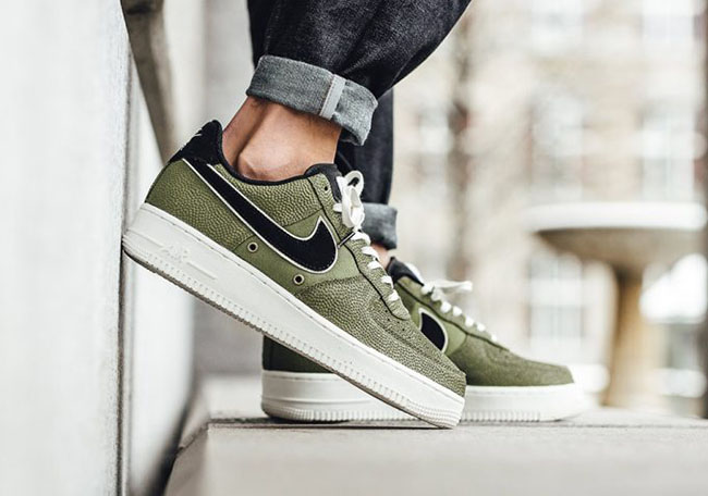 Nike Air Force 1 Low Palm Green Basketball 718152 308