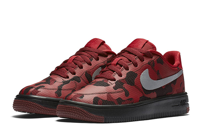 Nike Air Force 1 Low Ultra Red Camo