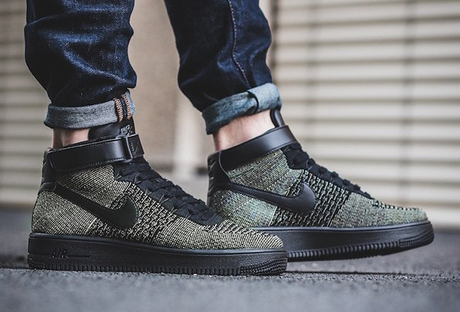 Nike Air Force 1 Ultra Flyknit Mid Palm Green