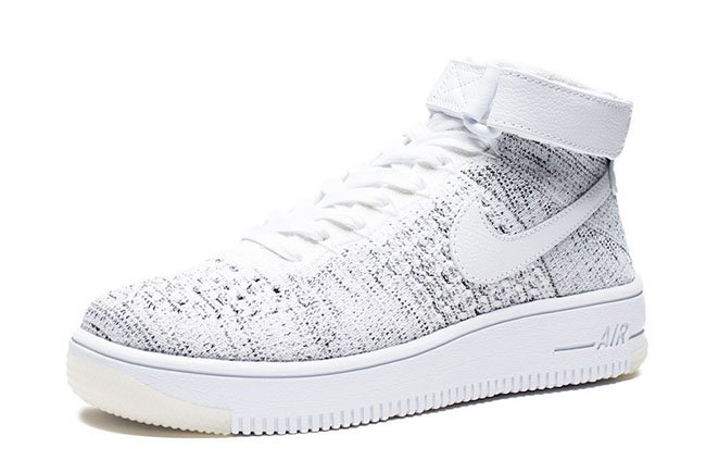 Nike Air Force 1 Ultra Flyknit Mid White Black
