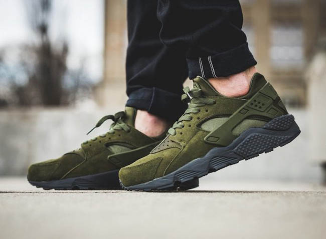 f61c82b04143b Nike Air Huarache SE Legion Green 852628-301