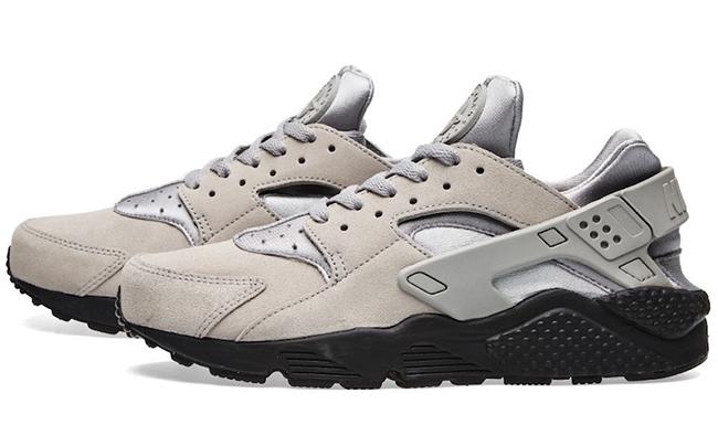 Nike Air Huarache Matte Silver