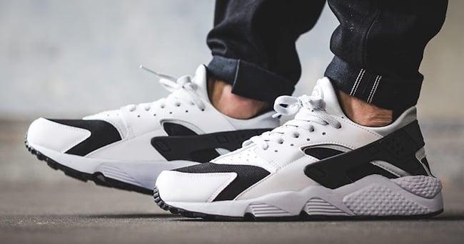 Nike Air Huarache White Black Platinum