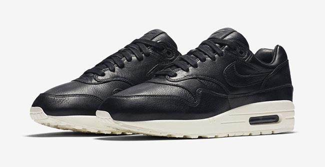 Nike Air Max 1 Pinnacle Leather Black 859554-003
