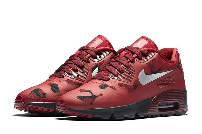 Nike Air Max 90 Ultra Red Camo