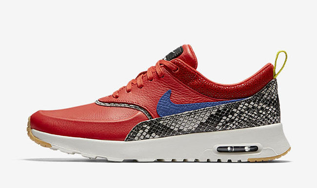 Nike Air Max Thea Snakeskin Max Orange