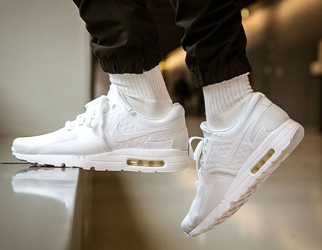 Nike Air Max Zero Triple White