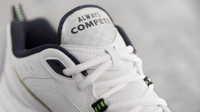 Nike Air Monarch Pete Carroll Seahawks PE