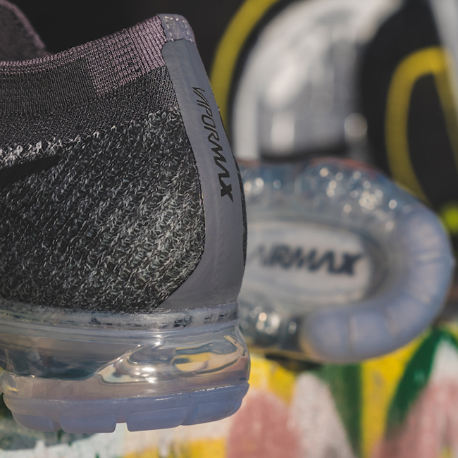Nike Air VaporMax On Feet Black
